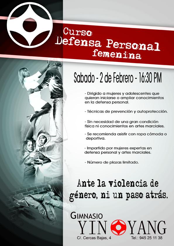 Curso defensa personal femenina s bado 2 de febrero 2013 for Gimnasio yin yang