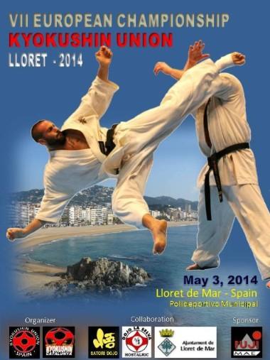 Vii european championship lloret de mar 2014 gimnasio for Gimnasio yin yang