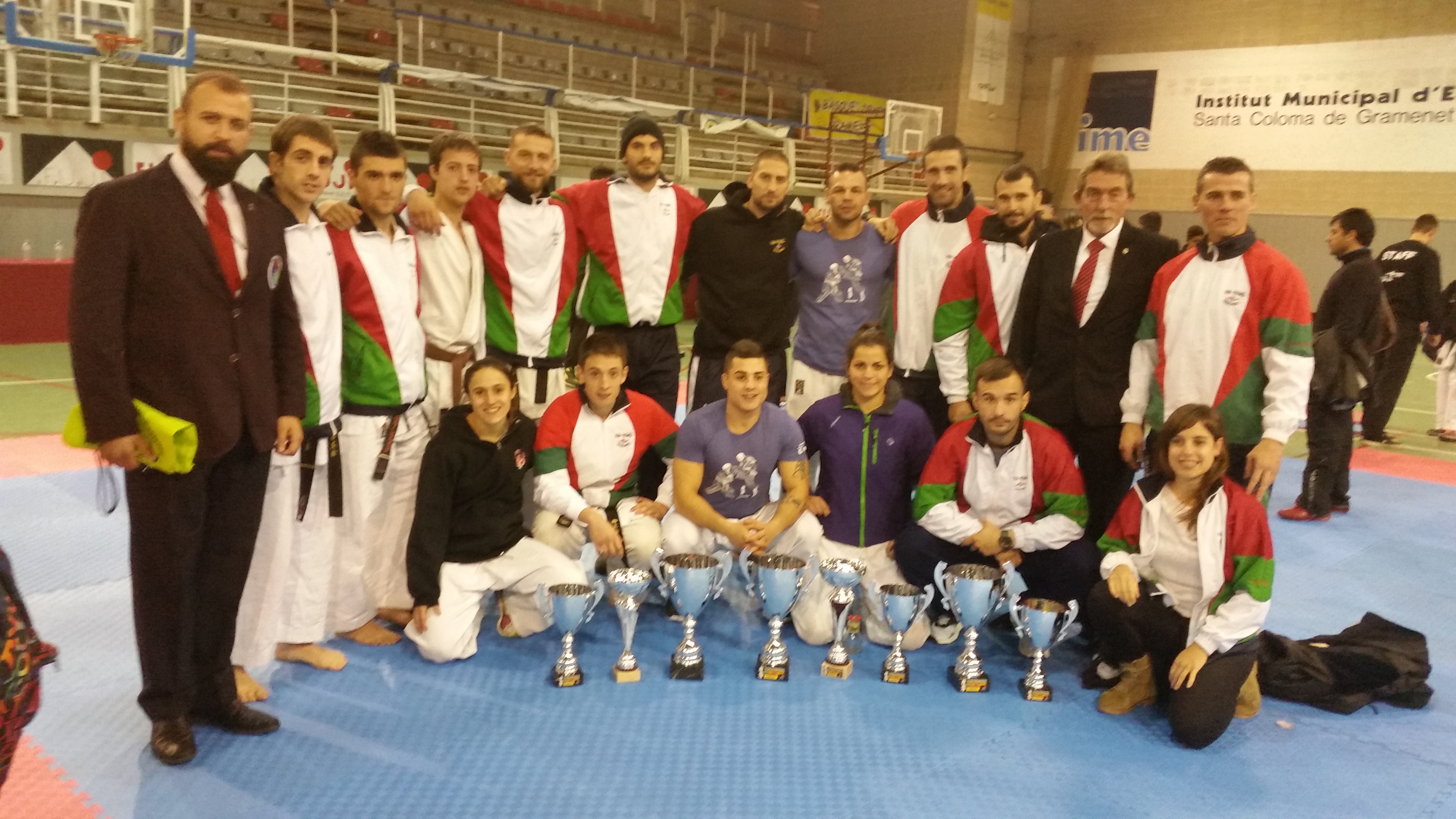 Vii copa internacional oyama karate kyokushin 2015 for Gimnasio yin yang