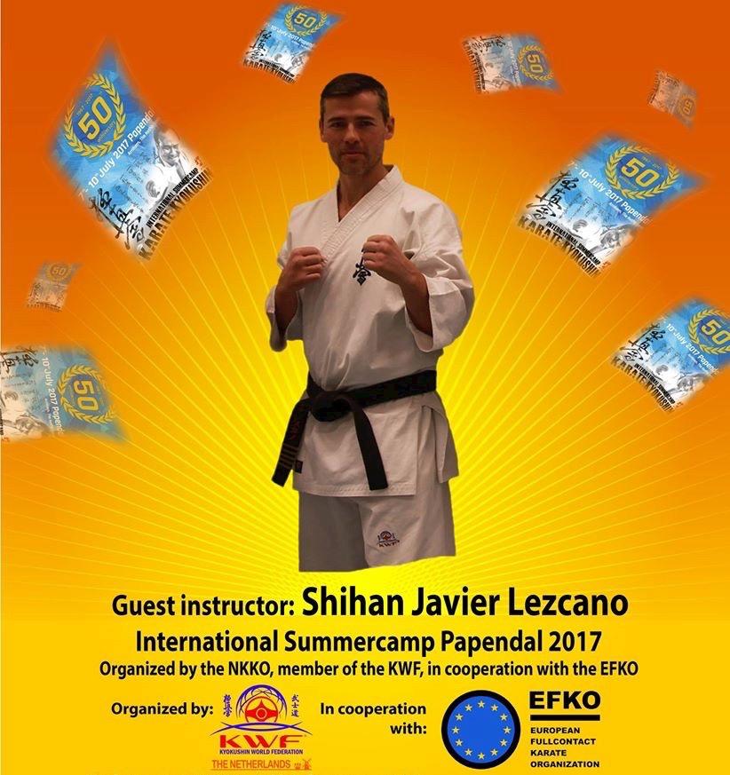 International summercamp papendal 2017 shihan j lezcano for Gimnasio yin yang