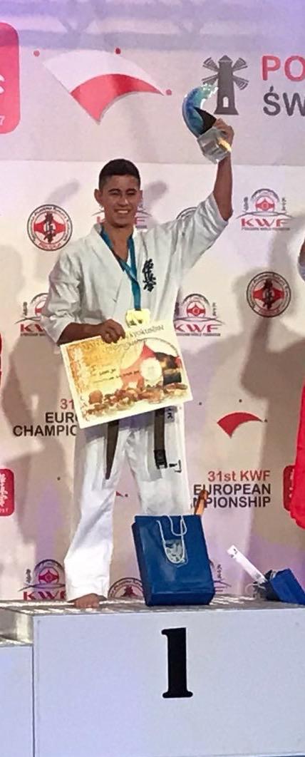 Campeones en kata 31 camp europeo kyokushin polonia kwf for Gimnasio yin yang